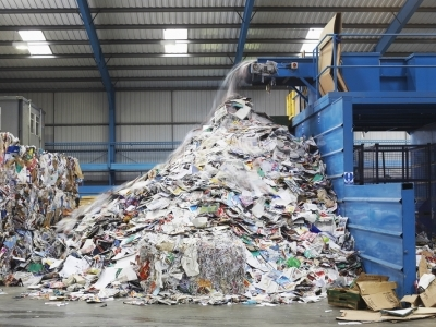 industrial waste recycling