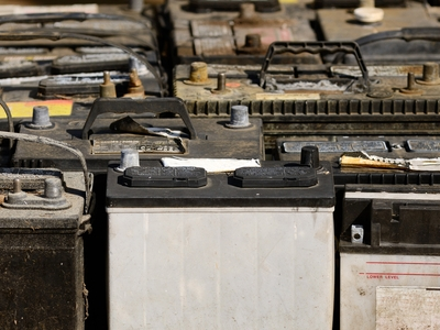 automotive waste batteries