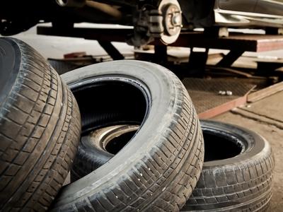 auto waste tires