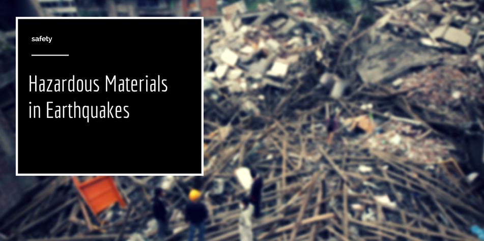 Hazardous Materials in Earthquakes cover photo