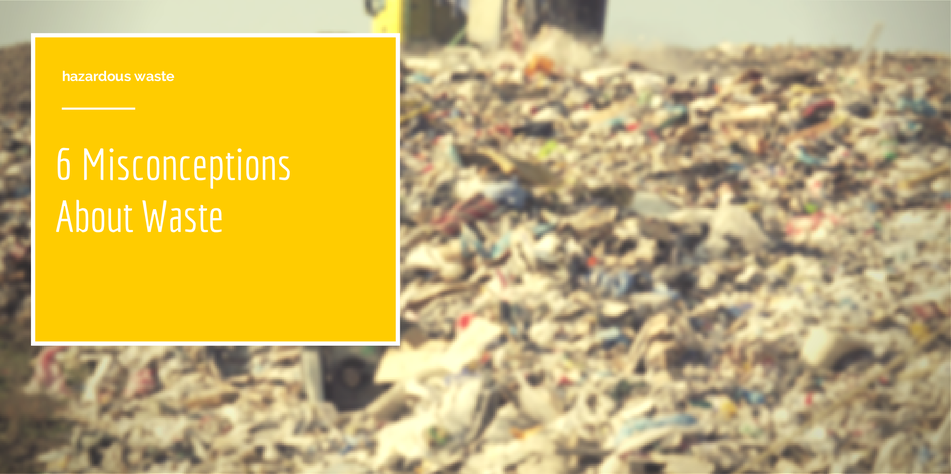 Cover photo for 6 misconceptions about waste article
