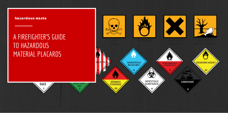 A Firefighters Guide To Hazardous Material Placards
