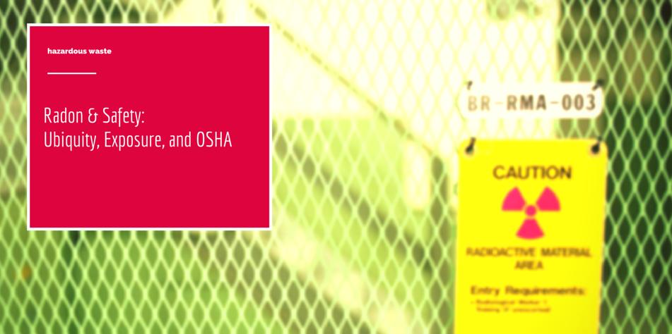 Radon disposal for radioactive carbon filters
