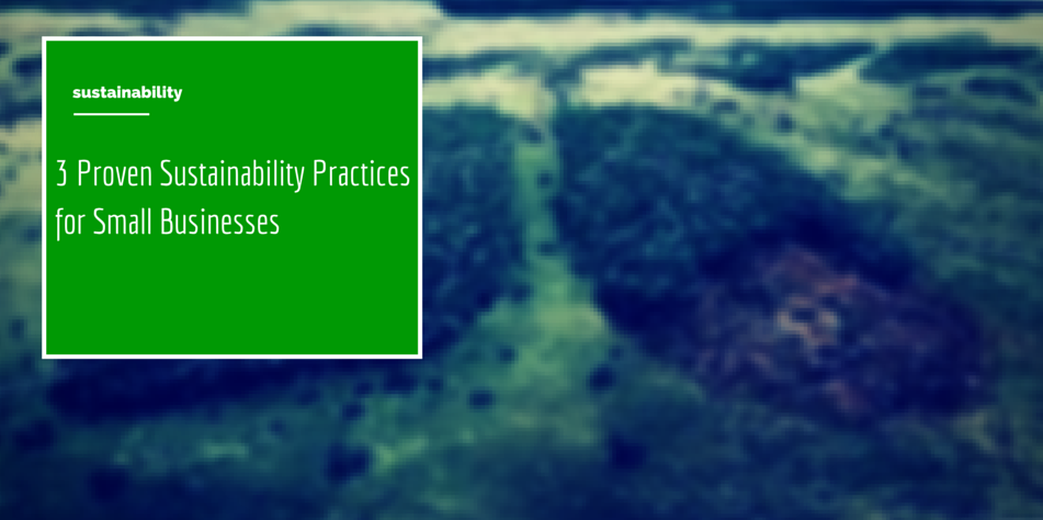 3 Proven Sustainability Practices for Small Businesses Article