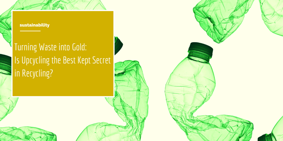 Turning Waste into Gold: Is Upcycling the Best Kept Secret in Recycling? Article
