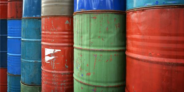 hazardous waste drums