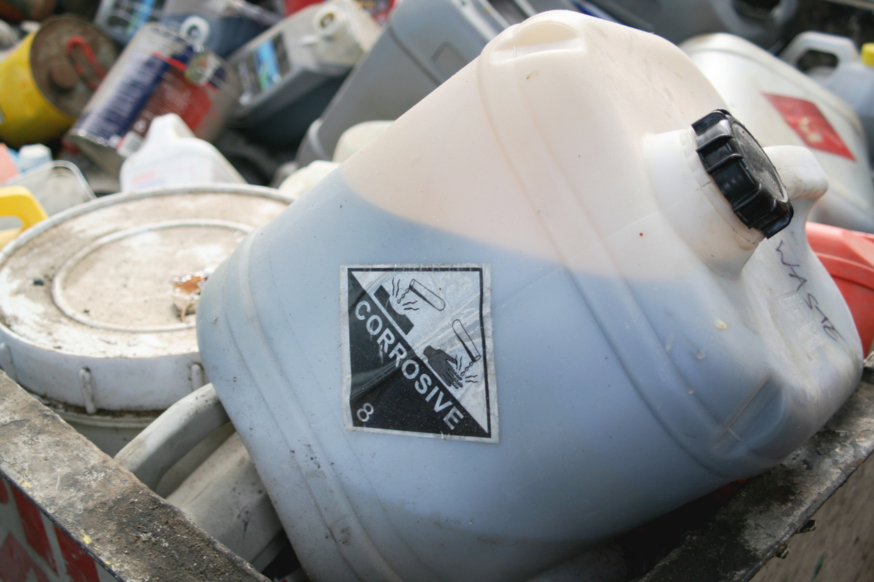 hazardous waste in need of consolidation