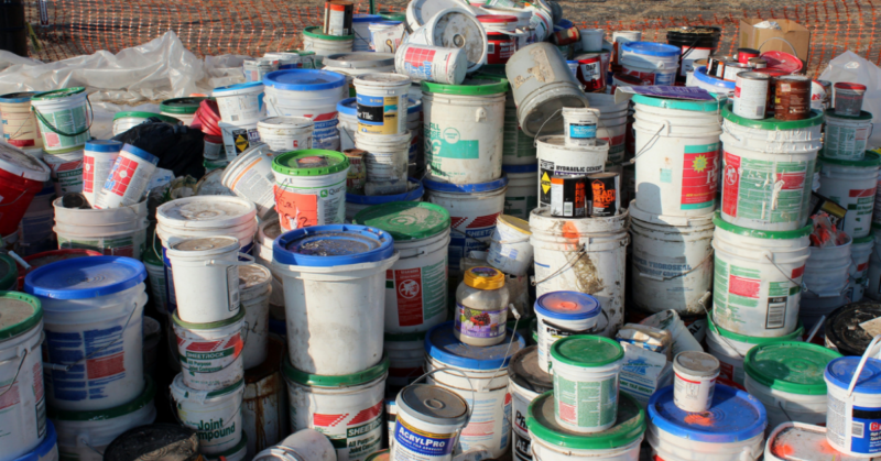 paint waste disposal